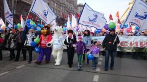 DSC 0775 300x168 ВОД Матери России приняли участие в шествии в День народного единства. 4 ноября 2014 года